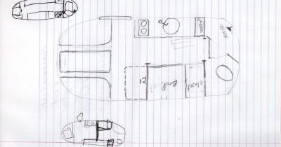 Pencil Airstream Drawing