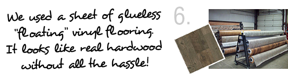 glueless vinyl flooring